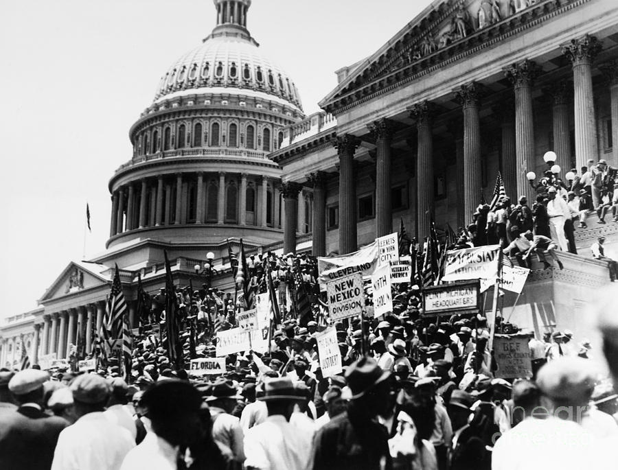 Demonstration at the capitol