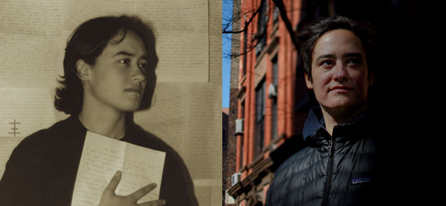 Amanda in 1996 / Amanda in 2013. Photo: David Gilkey/NPR