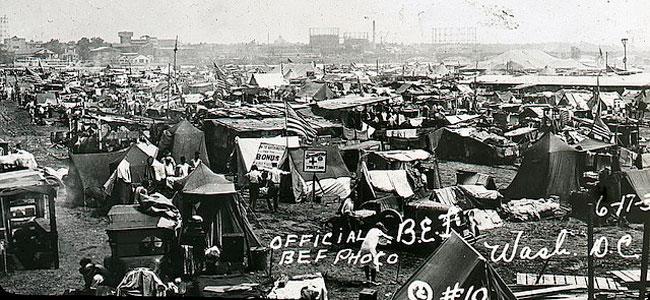 Bonus Army encampment