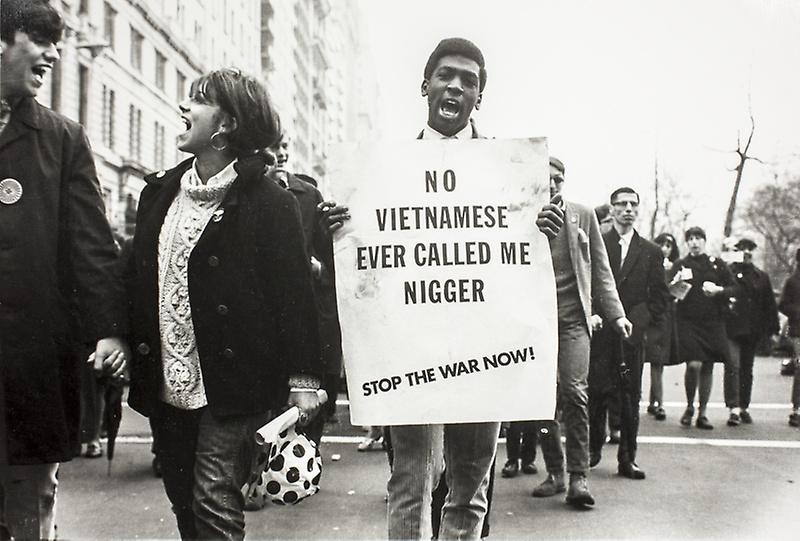 First Anti-Vietnam War March_LeRoy Henderson_1967