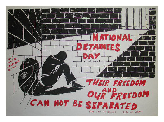 National Detainees Day Poster