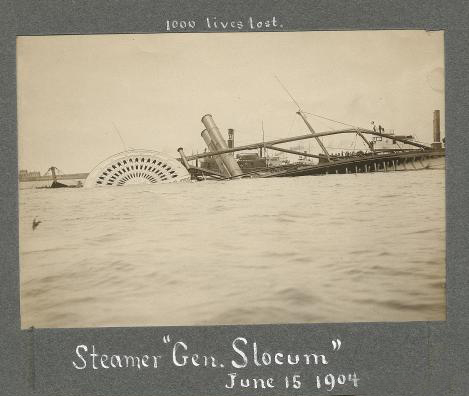 General Slocum Sinking