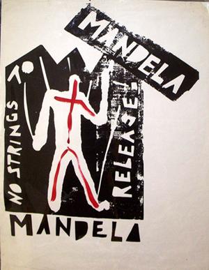 Free Mandela Poster