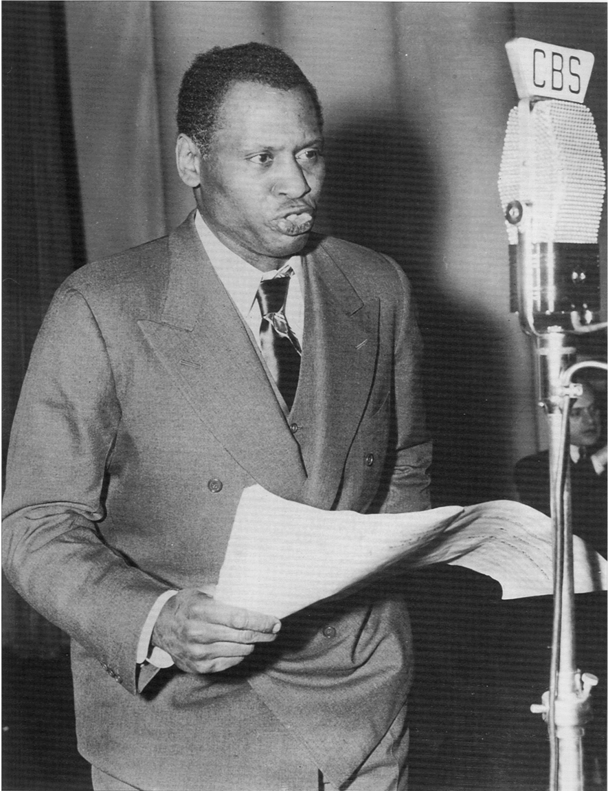 Paul Robeson performing Ballad for Americans on CBS Radio on Nobember 5, 1939.