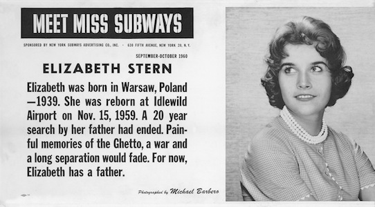 Elizabeth Stern - Miss Subway September-October 1960